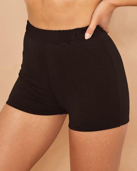 Elastic Waist Butt Lifting Sports Shorts gallery 2