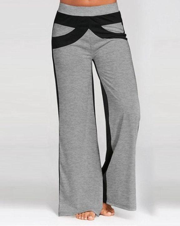 Colorbock Mid Waist Wide Leg Pants gallery 4