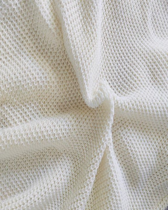Solid Ribbed Pocket Detail Open Front Cardigan gallery 11