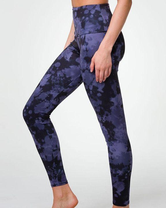 Tie Dye & Leopard Print High Waist Sports Leggings gallery 5