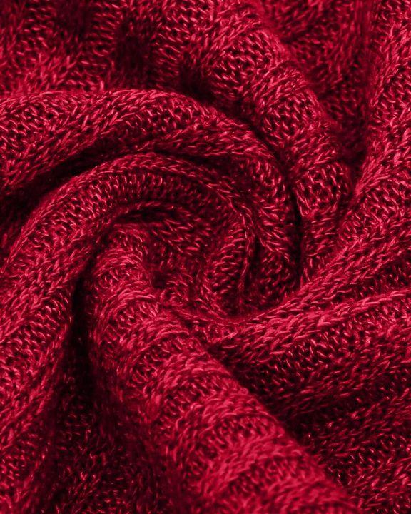 Solid Bell Sleeve Scoop Neck Sweater gallery 9