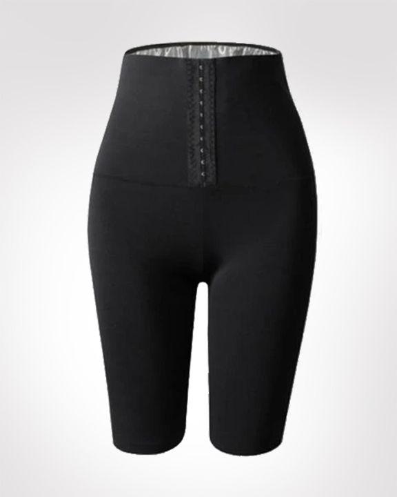 Waist Compression Sweat Burner Shapewear Sports Shorts gallery 1