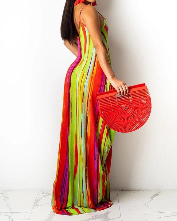 Allover Print Cami Maxi Dress gallery 3