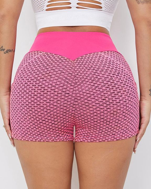 Textured Butt Lifting Sports Shorts gallery 8