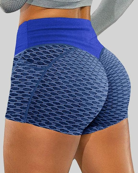 Textured Butt Lifting Sports Shorts gallery 3