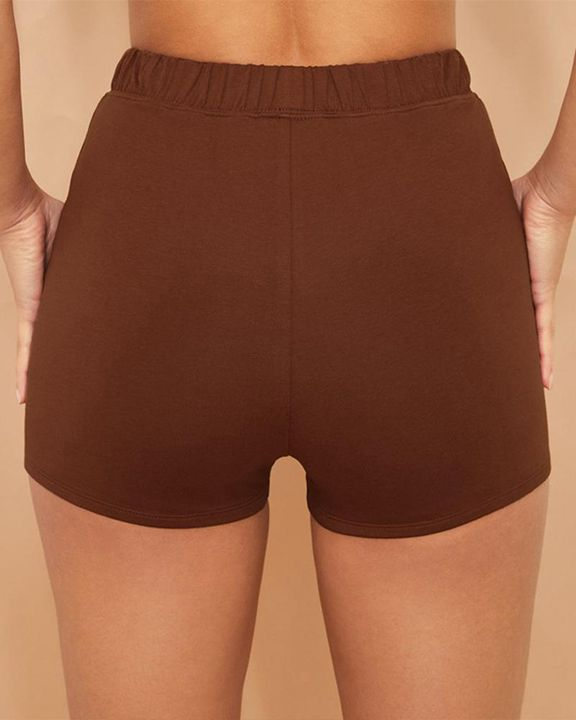 Elastic Waist Butt Lifting Sports Shorts gallery 11