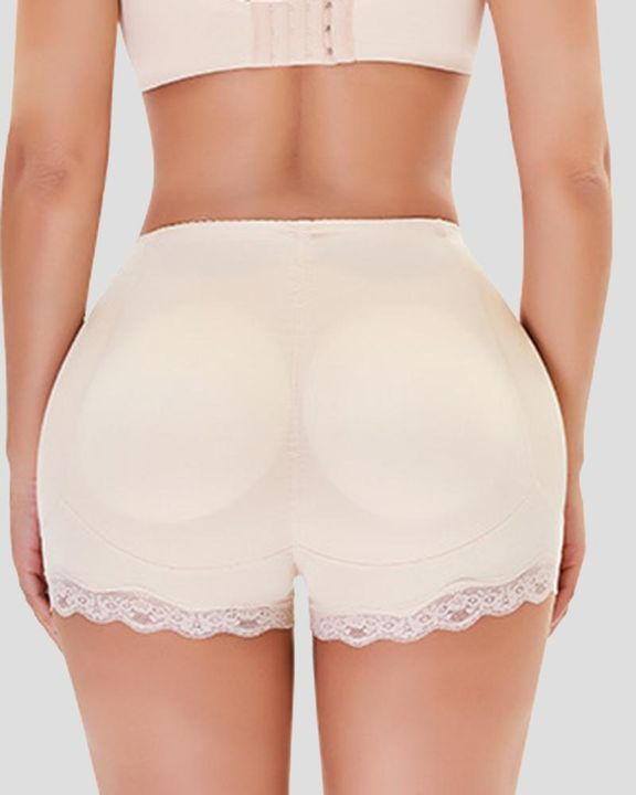 Floral Lace Butt Lifting High Waist Shapewear Shorts gallery 3