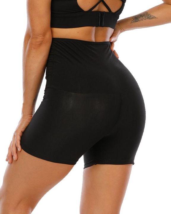 Waist Compression Sweat Burner Shapewear Sports Shorts gallery 6
