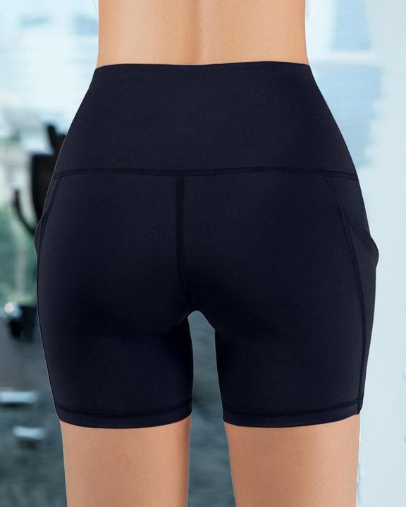 Butt Lifting Pocket Side Sports Shorts gallery 8
