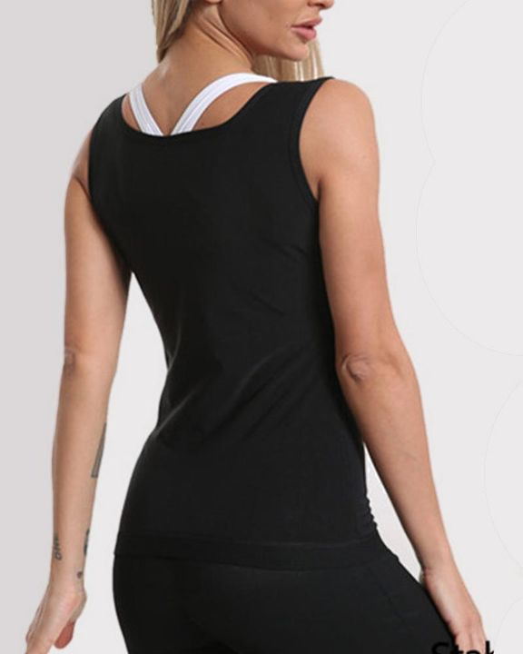 Solid Zip Front Shapewear Trainer gallery 2