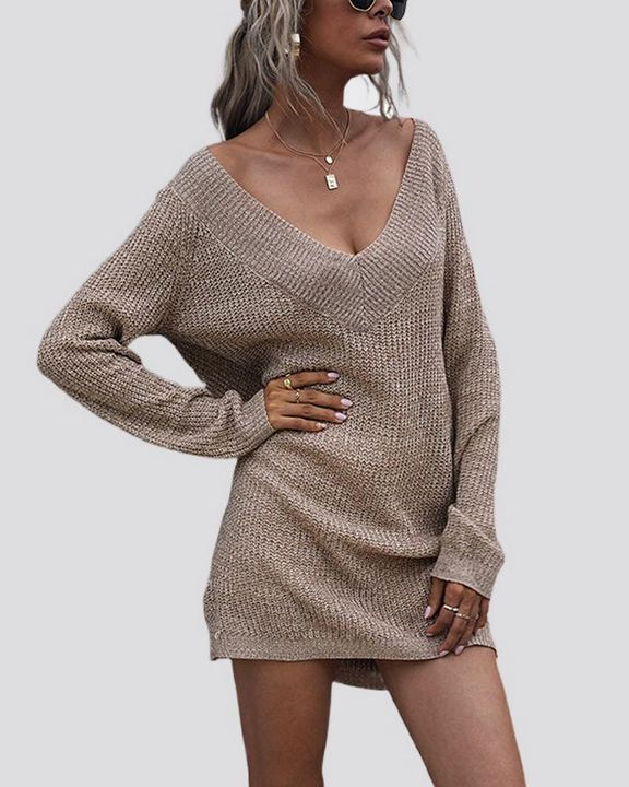 Drop Shoulder Oversized Sweater gallery 1
