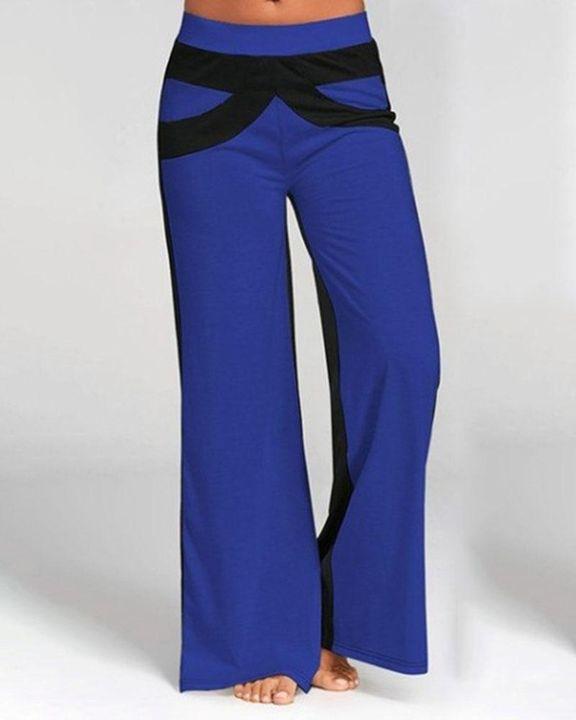 Colorbock Mid Waist Wide Leg Pants gallery 5