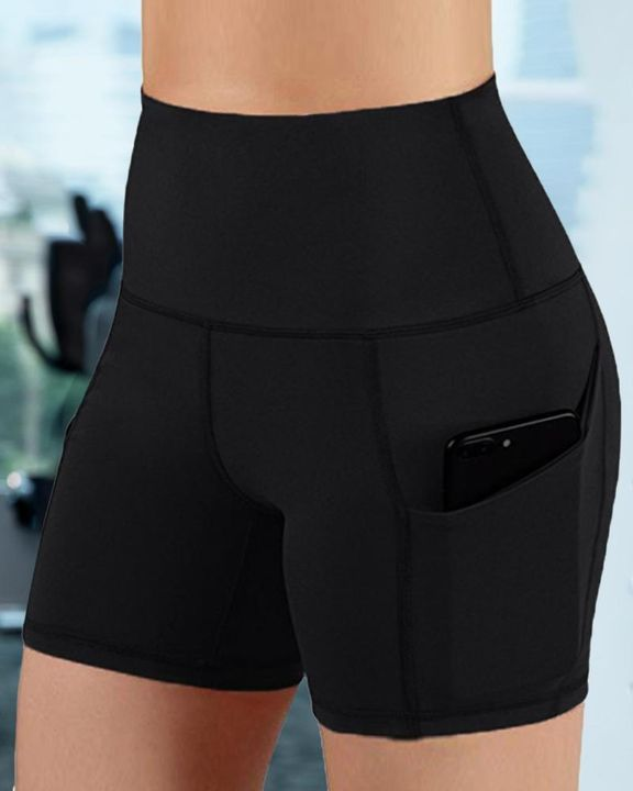 Butt Lifting Pocket Side Sports Shorts gallery 2