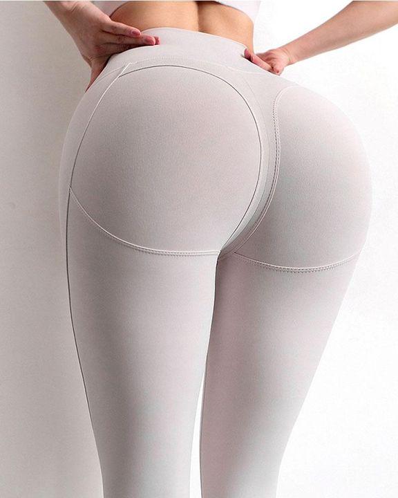 Butt Lifting Softness Stitch Trim Sports Leggings gallery 5