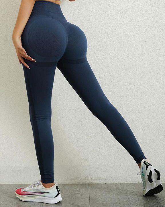 Seamless Butt Lifting Sports Leggings gallery 9
