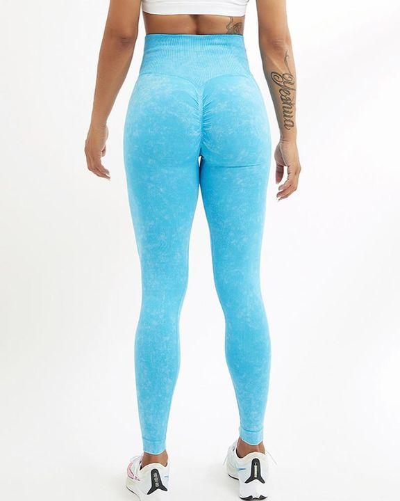 Tie Dye Seamless Scrunch Butt Sports Leggings gallery 16