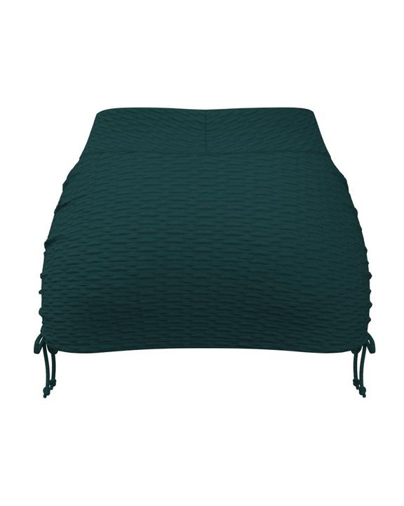 Textured Drawstring Side Sports Skirt gallery 9