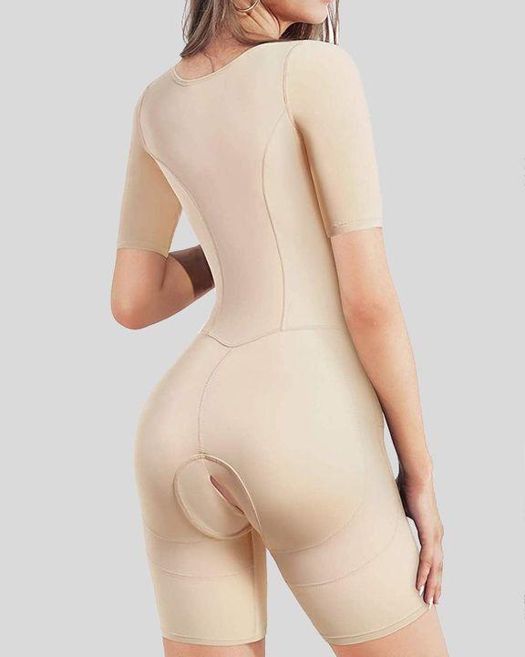 Tummy Control Open Bust Butt Lifting Shapewear Romper gallery 4