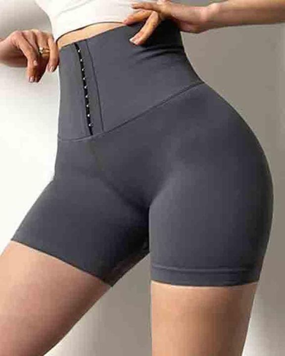 Hook Gridle High Waist Trainer 3'' Sports Shorts gallery 3