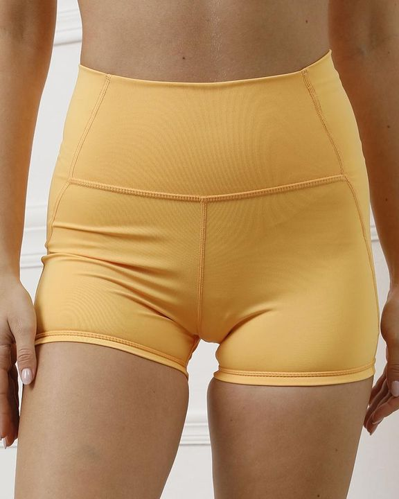 Pocket Decor Wide Waistband Butt Lifting Sports Shorts gallery 22