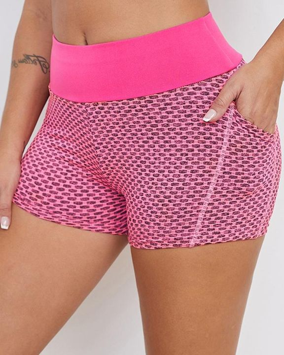 Textured Butt Lifting Sports Shorts gallery 7
