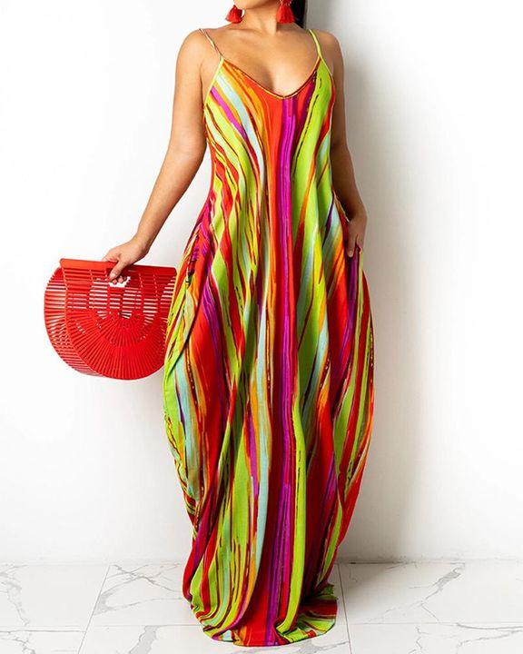 Allover Print Cami Maxi Dress gallery 1