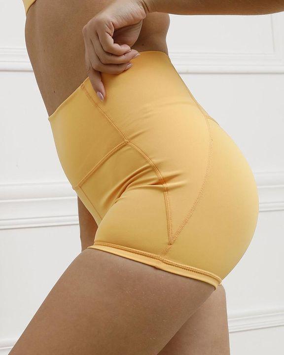 Pocket Decor Wide Waistband Butt Lifting Sports Shorts gallery 19