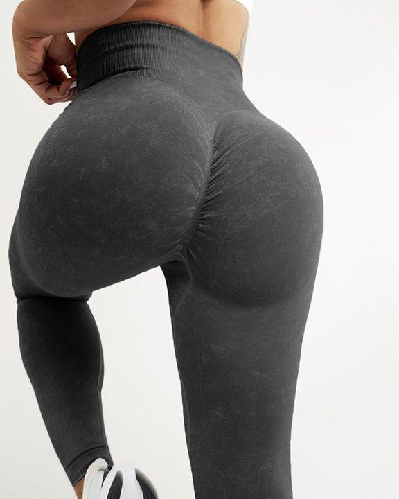 Tie Dye Seamless Scrunch Butt Sports Leggings gallery 14