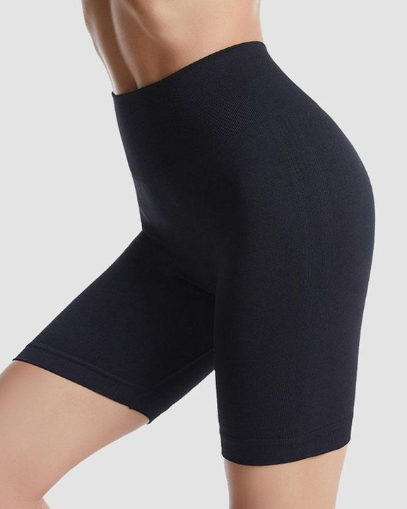 Ribbed Absorbs Sweat High Waist Sports Shorts gallery 4