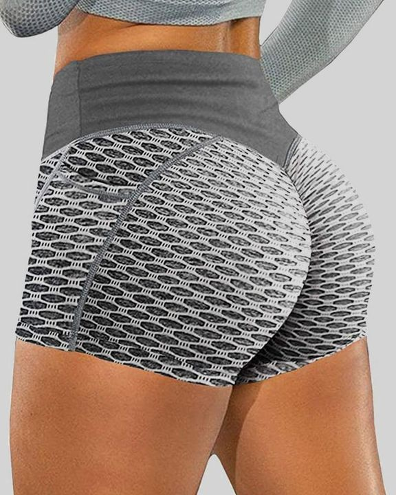Textured Butt Lifting Sports Shorts gallery 5