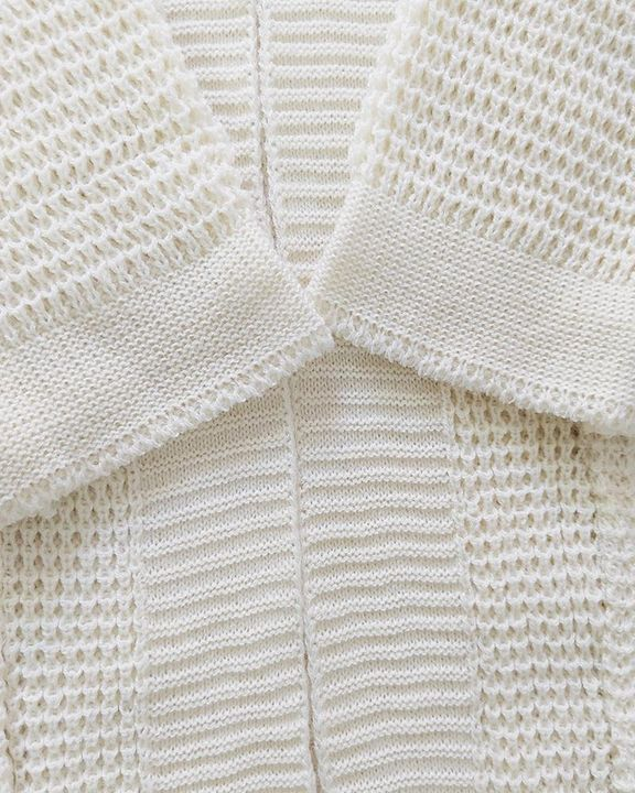 Solid Ribbed Pocket Detail Open Front Cardigan gallery 9