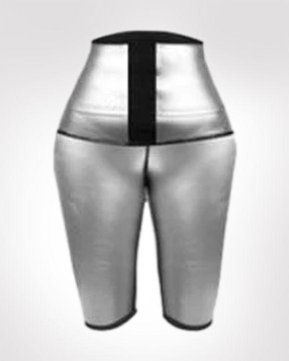 Waist Compression Sweat Burner Shapewear Sports Shorts gallery 2