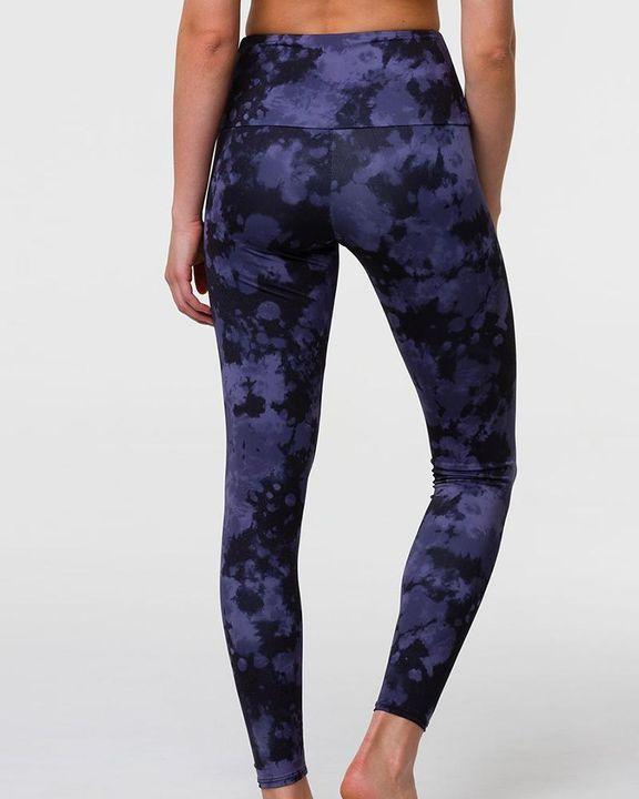 Tie Dye & Leopard Print High Waist Sports Leggings gallery 6