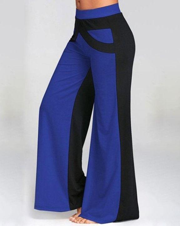 Colorbock Mid Waist Wide Leg Pants gallery 2