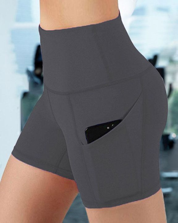 Butt Lifting Pocket Side Sports Shorts gallery 6