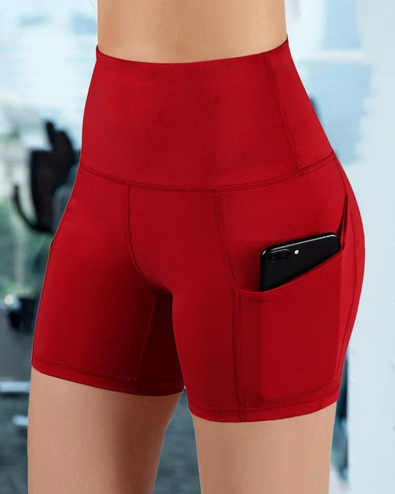Butt Lifting Pocket Side Sports Shorts gallery 9