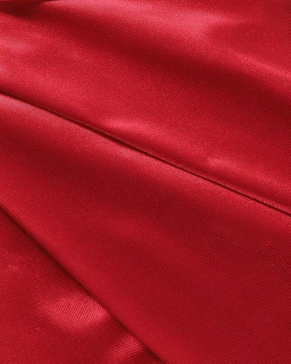 Satin Split Thigh Wrap Midi Dress gallery 8