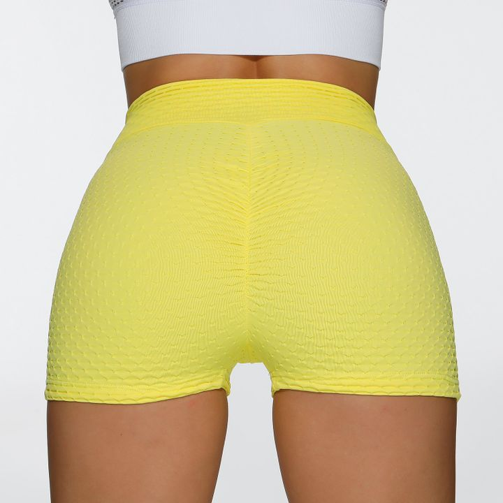 Butt Lifting Elastic Ruched Running Sports Shorts gallery 10