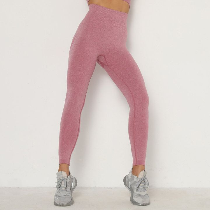 Solid Beauty Contour Butt Lifting Sports Leggings gallery 6