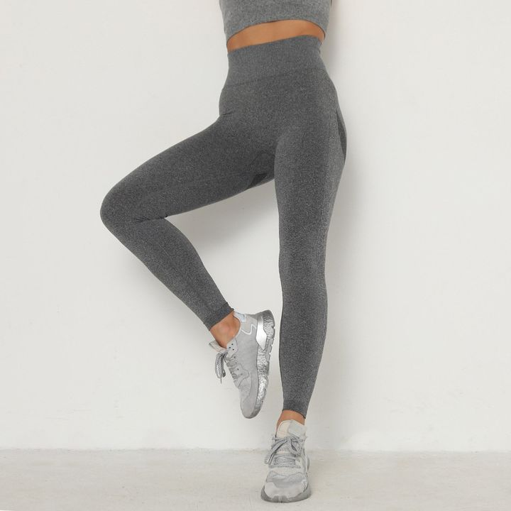 Solid Beauty Contour Butt Lifting Sports Leggings gallery 14