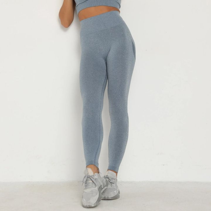 Solid Beauty Contour Butt Lifting Sports Leggings gallery 11