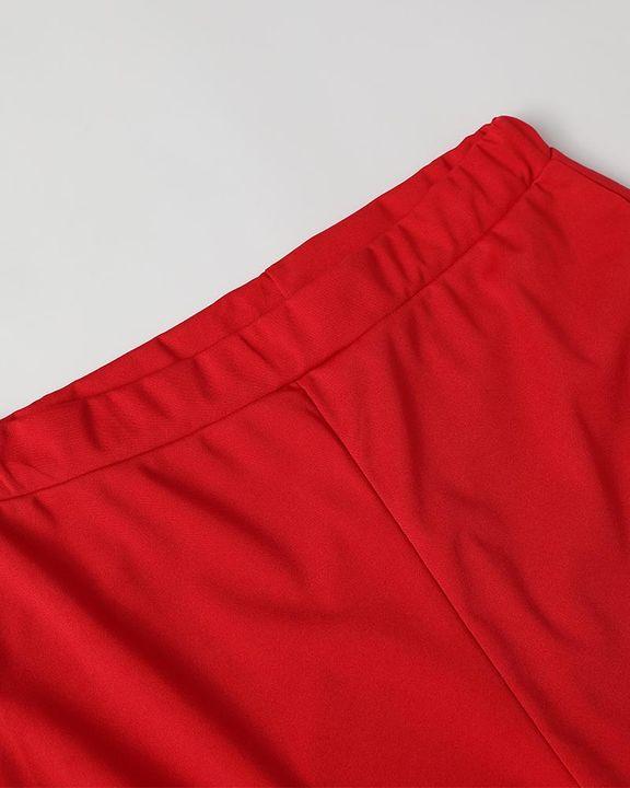 Solid Zip Up Dual Pocket Hooded Top & Pants Set gallery 16