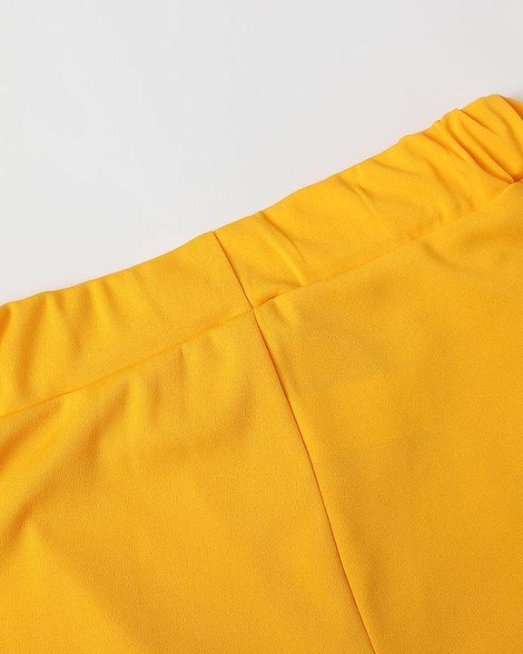 Solid Zip Up Dual Pocket Hooded Top & Pants Set gallery 19