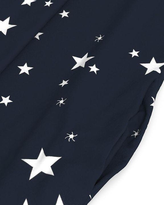Stars Print Dual Pocket Maxi Dress gallery 10