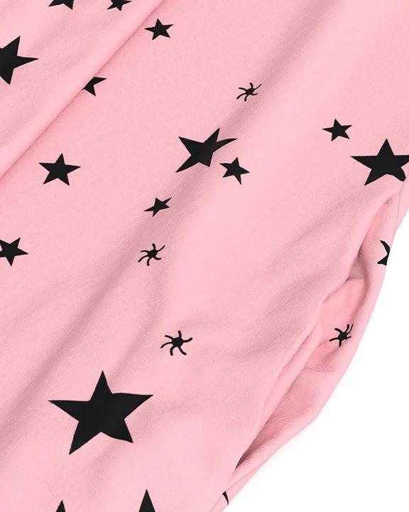 Stars Print Dual Pocket Maxi Dress gallery 16