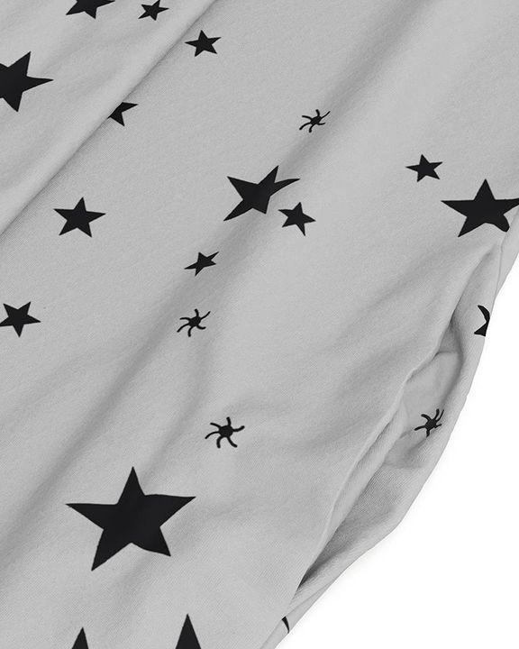 Stars Print Dual Pocket Maxi Dress gallery 20
