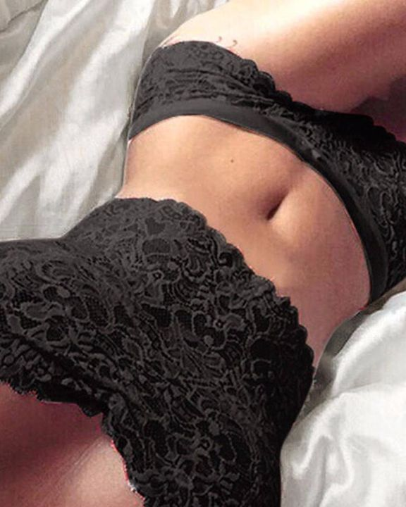 Wrapped Chest Lace Lingerie Set gallery 1