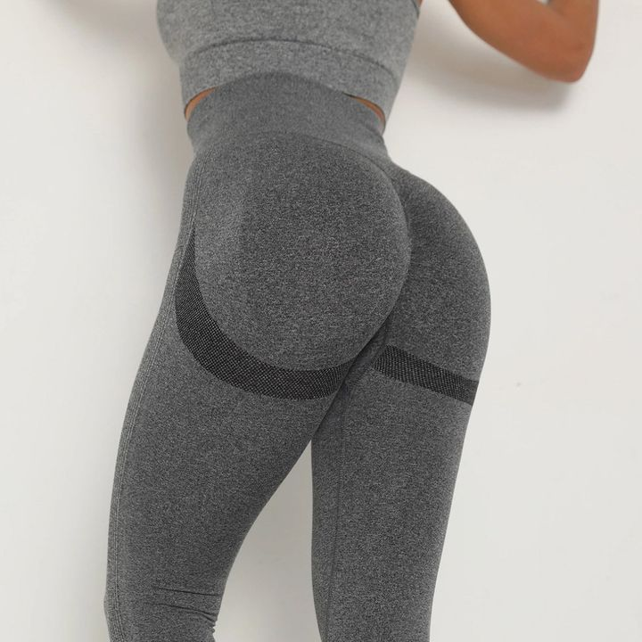 Solid Beauty Contour Butt Lifting Sports Leggings gallery 17