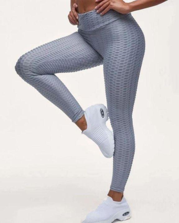 High Waist Butt Lifting Textured Leggings gallery 21