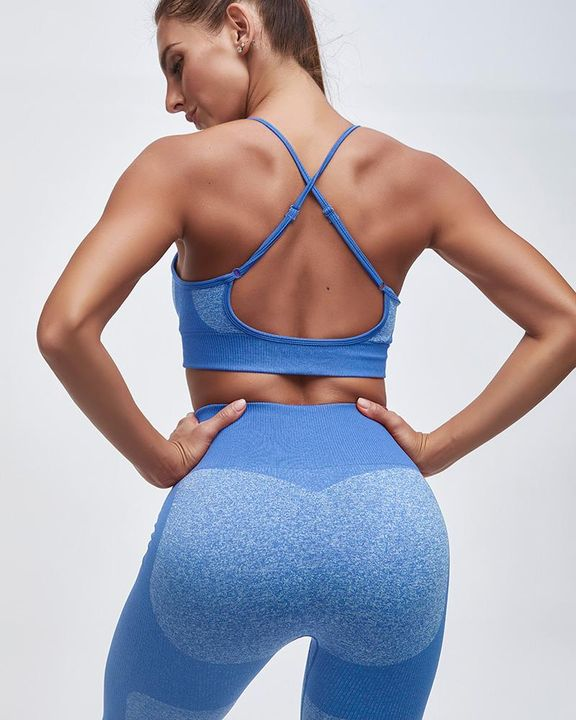 Enhanced Compression Fit Seamless Leggings Set gallery 3